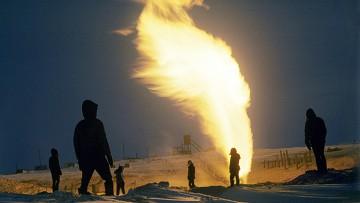 Добыча и месторождения газа